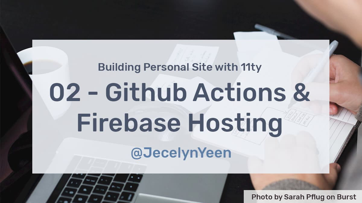 Setting up GitHub Actions and Firebase Hosting