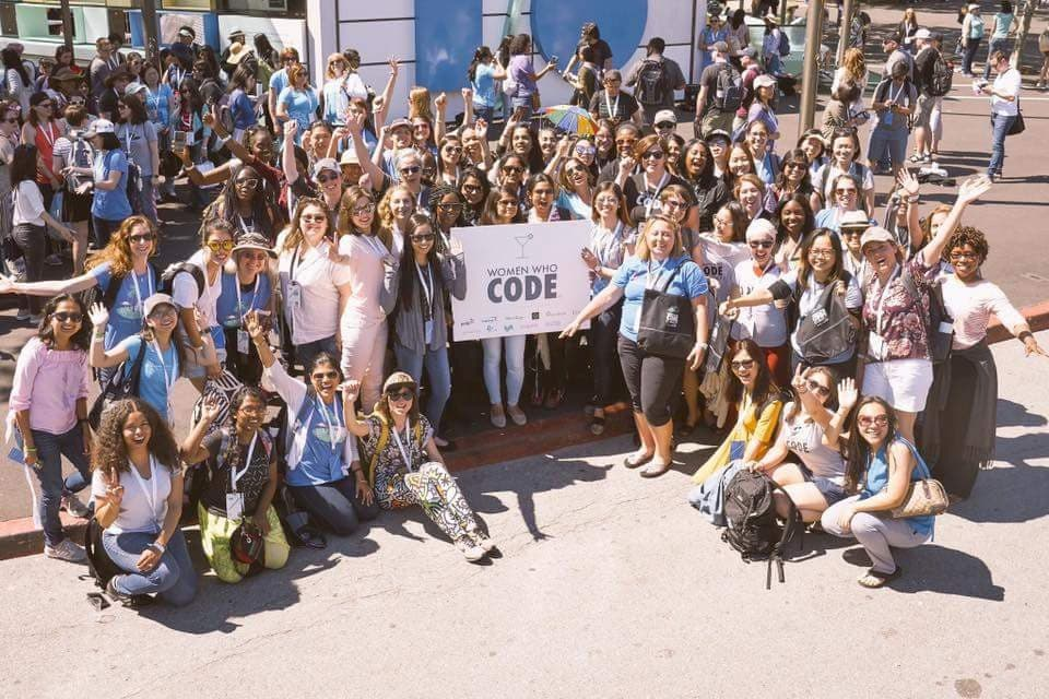 Women Who Code at Google IO