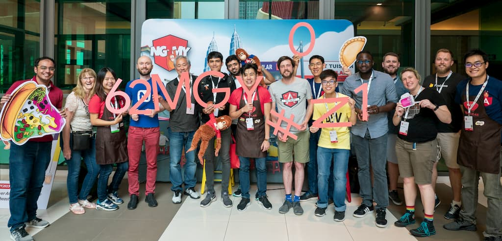 All the Google Developer Experts (GDE) at NG-MY 2019!