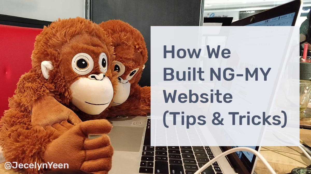 How We Built NG-MY Website