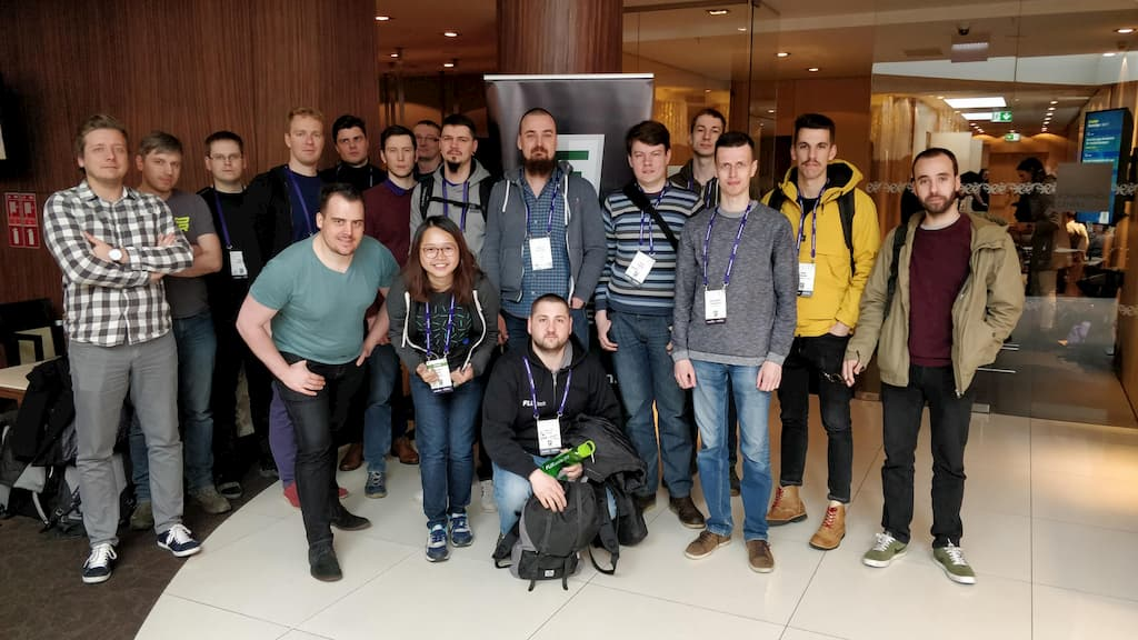 I did a Vuex Workshop at the conference too, and all my workshop attendees... are gentlemen!